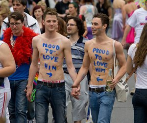 boys, support, and love is love image