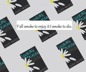 book, die, and john green image