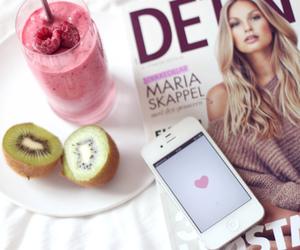 iphone, fruit, and kiwi image