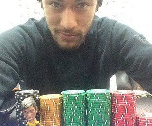 neymar, neymar jr, and poker image