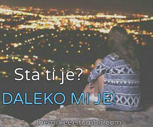 balkan, tumblr, and tekst image