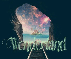 alice, Island, and wonderland image