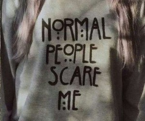 normal, people, and american horror story image