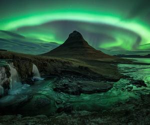 aurora and iceland image