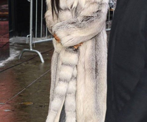 coat, fashion, and rihanna image