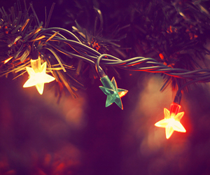 christmas, stars, and light image