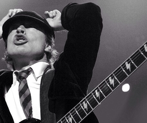 ACDC, angus young, and cool image