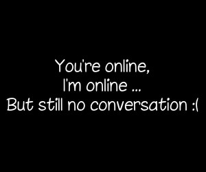 love, conversation, and quotes image