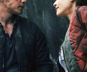 the 100, bellamy blake, and raven reyes image