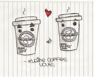 coffee, drawing, and fanart image