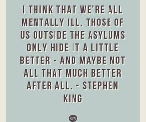 quote, quotes, and Stephen King image