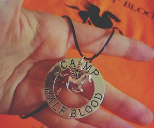 collar, percy jackson, and camp half-blood image