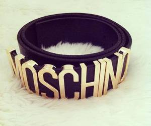Moschino, fashion, and belt image