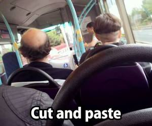 paste, cut, and funny image