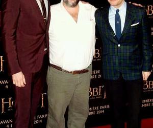 Martin Freeman, richard armitage, and the hobbit image