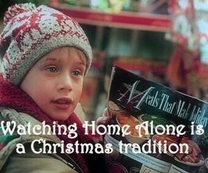 christmas, home alone, and tradition image