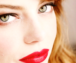 awesome, girl, and red lips image