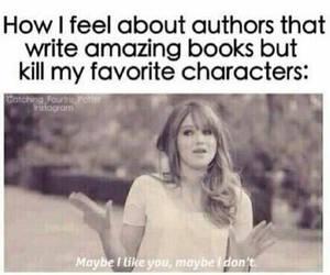 books, author, and fandom image