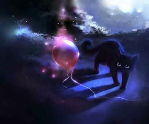 balloon, black, and apofiss image