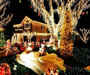 christmas, light, and santa image