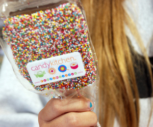 blonde, candy, and colors image
