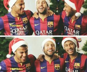 Barca, rafinha, and neymar image