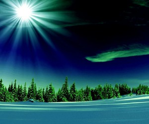 inverno, natale, and neve image