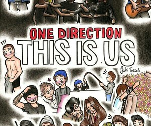 one direction, this is us, and niall horan image