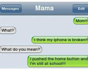funny and iphone image