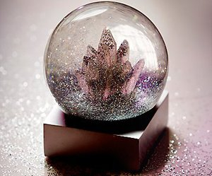 beauty and crystal image