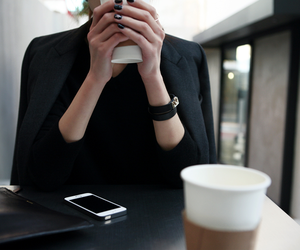coffee, style, and black image