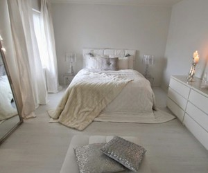 bedroom, deco, and decoration image