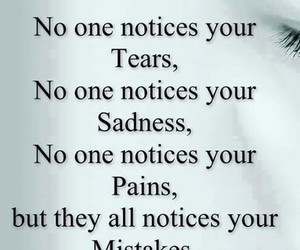 quote, mistakes, and tears image