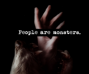 monster, people, and werewolf image