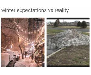 winter, funny, and true image