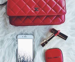 red, fashion, and chanel image