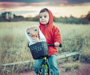 et, cute, and kids image