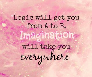 Dream, imagination, and quote image