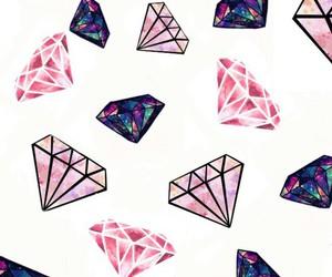 diamond, wallpaper, and pink image