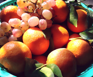 grapes, fruites, and oranges image