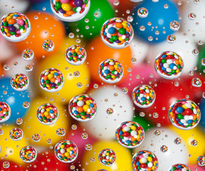 colors, bubbles, and candy image