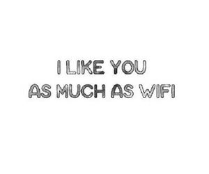 love, wifi, and like image