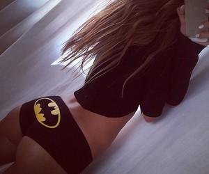 batgirl, batman, and fitness image
