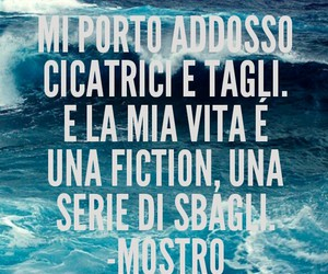 frasi, cicatrici, and musica image