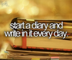 diary, before i die, and quotes image