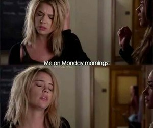 monday, pll, and pretty little liars image