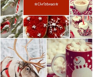 christmas, coffee, and snowman image