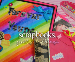 scrapbooks and just girly things image
