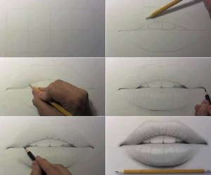 draw, mouth, and drawing image