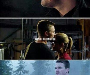 fighting, love, and olicity image